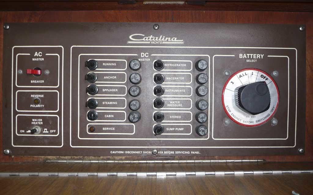 Catalina-30-Control-Board-Santa-Barbara-CA